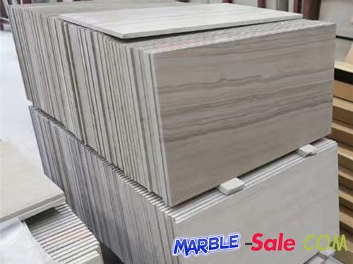 Gray Wood Vein Marble Tiles