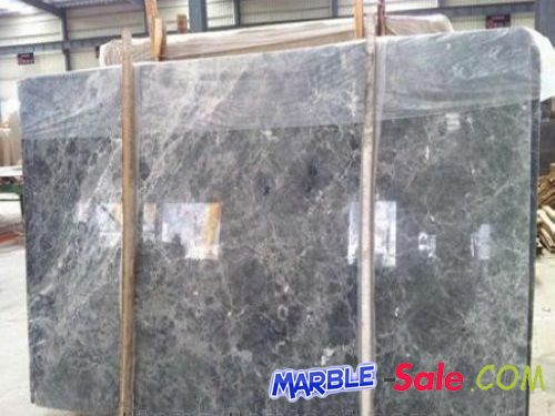 China Silver Grey Marble Slabs