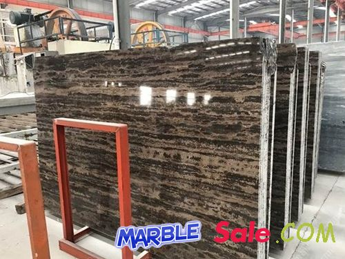Golden Coast Coffee Brown Marble Slab