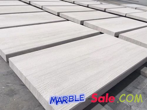 Wooden White Marble Flooring Tiles