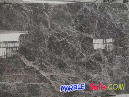 China Grey Emperador Marble Slab