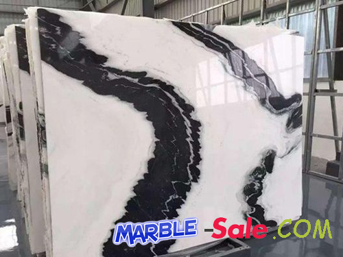 Panda White Marble Polish Slab
