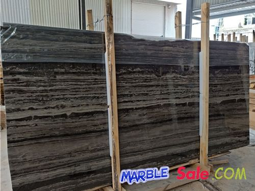 Zebra Brown Marble Slabs
